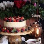 Tarta de queso y frutos rojos – New York Cheesecake [Y tercer cumpleaños]