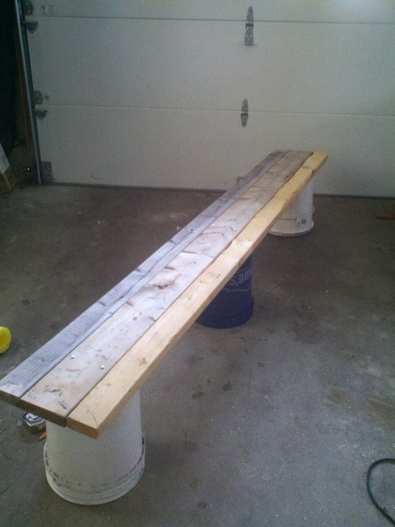 how to build a backyard rink bench for 20 or less backyard