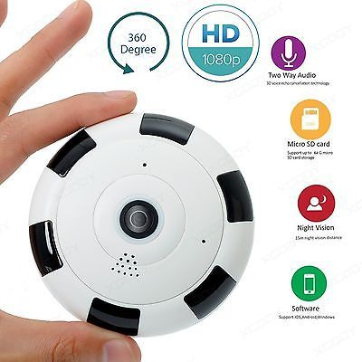 Details about PTZ 1080P HD WIFI Home Security Camera IP IR