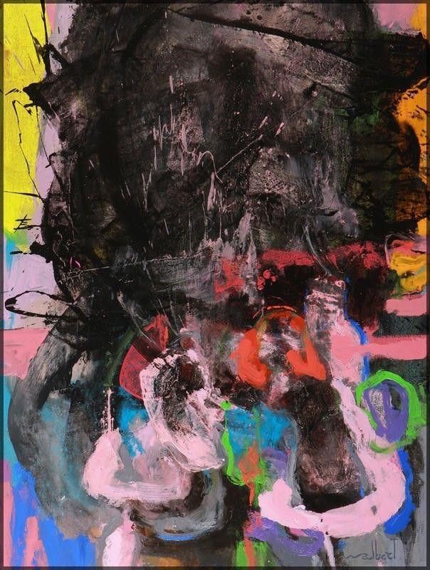Sans titre II by Walbert Pérez, 2010 Painting Artsper