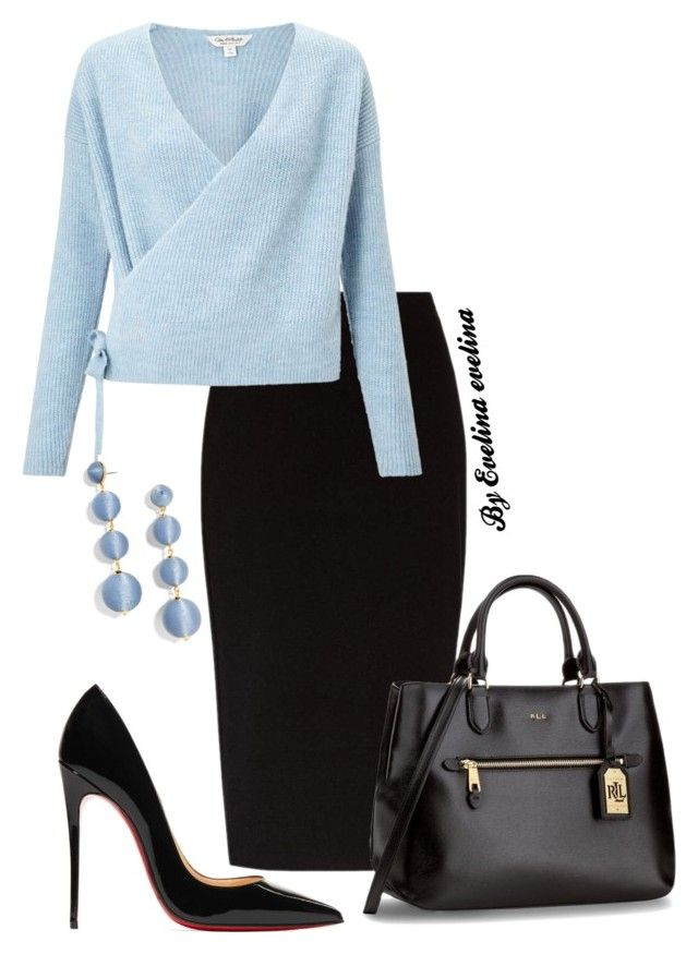 """""""EVE"""" by evelina-er on Polyvore featuring The Row, Miss Selfridge, Christian Louboutin and BaubleBar"""