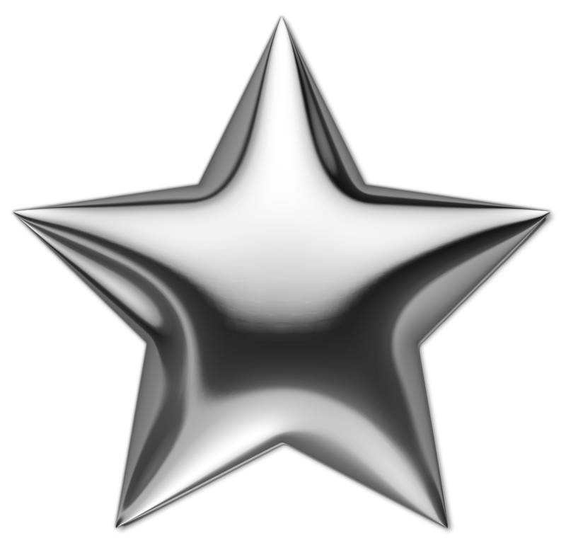 Silver Star Png Image Silver Stars Stars Star Background