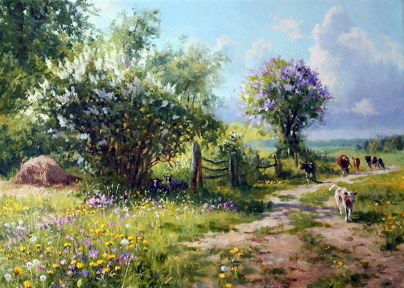 Vladimir Zhdanov is a Russian painter, that mainly focuses on the ...