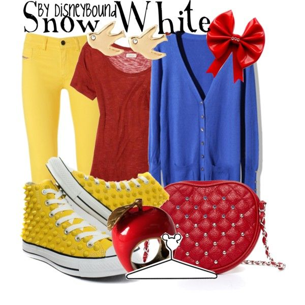 """Snow White"" by lalakay on Polyvore"