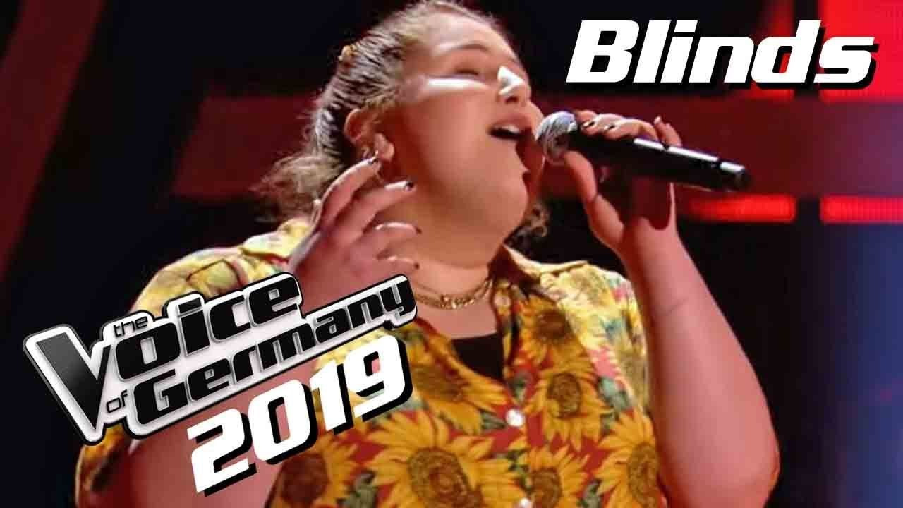 Anna Strohmayr Sings Nothing Compares 2 U Blind Audition On The Voice Of Germany 2019 Season 9 The Son Voice Of Germany The Voice Of Germany Casting Show