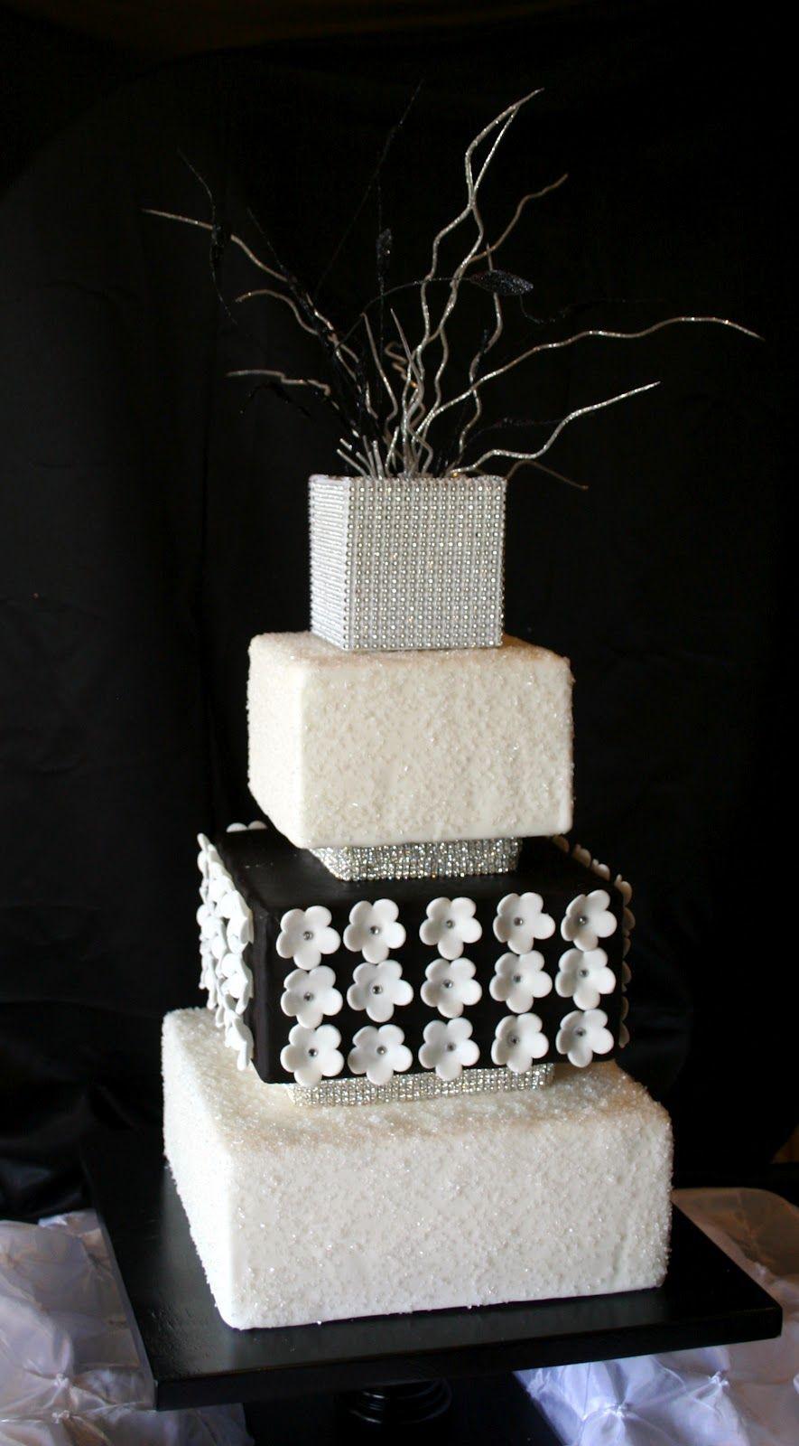 The Cake Cottage Sophisticated Wedding Cake