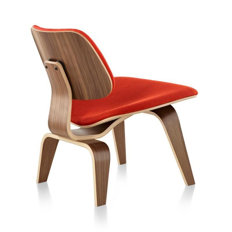 Tapizado Madera Contrachapada Moldeada Lounge Chair By Eames Herman Miller