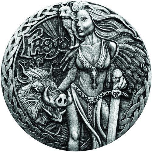 Perth Mint Loki Norse Gods 2 Oz Silver