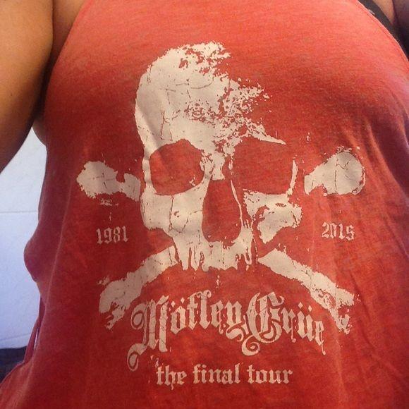 Motley Crüe Final Tour Tank T Shirts For Women Clothes Design Motley Crüe