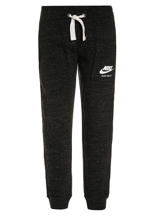 Nike Performance VINTAGE - Träningsbyxor - black/white - Zalando.se
