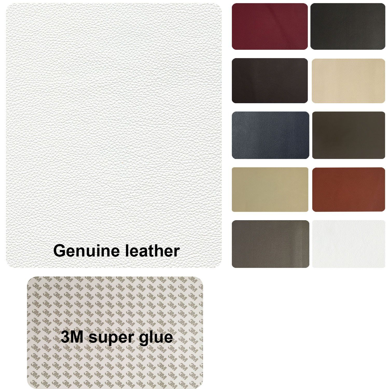 Genuine Leather Repair Patch 8 X 11 Inches Leather Repair Super Glue Patches