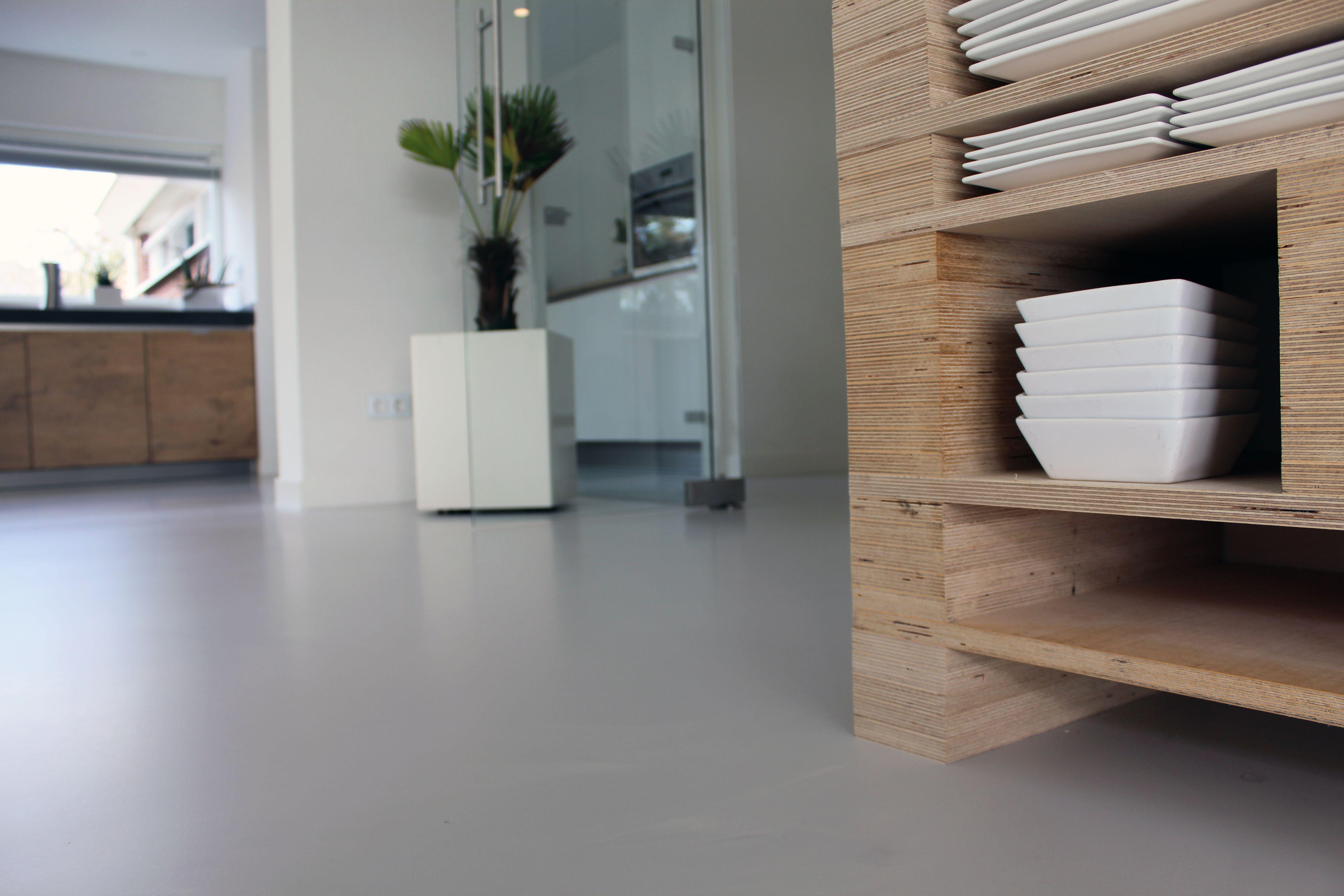 Betonlook gietvloer motion gietvloeren #gietvloer #betonlook