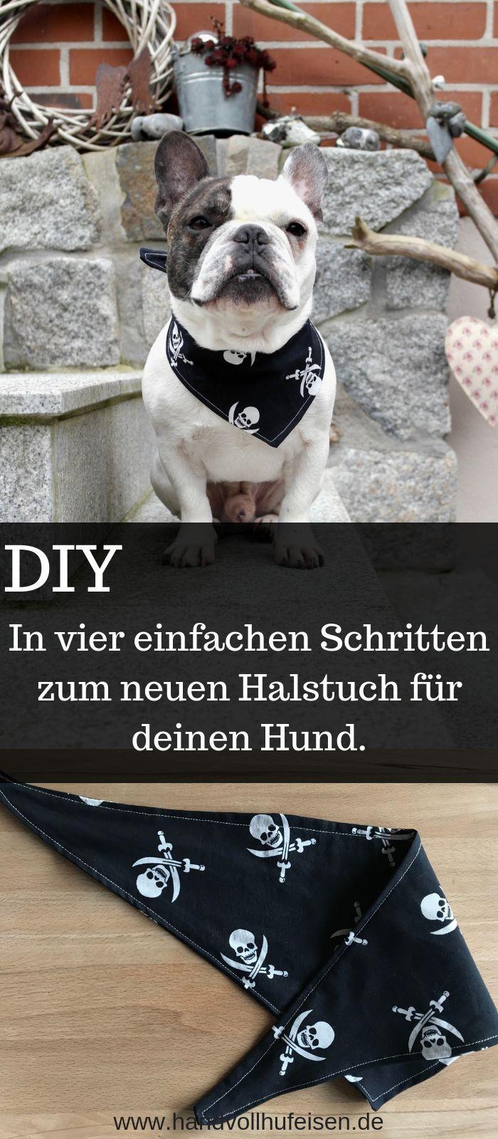 DIY-Anleitung: Wie du ganz einfach ein Halstuch für deinen Hund nähen kannst!