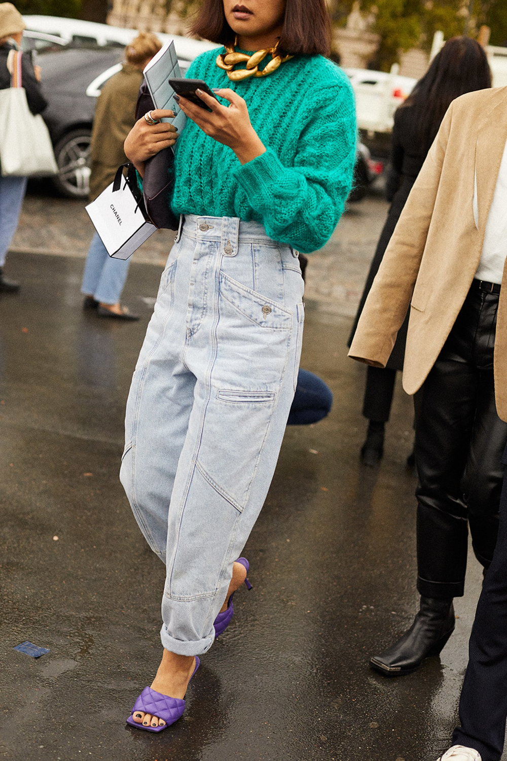 Street Style #PFW / Day 5 | Vogue Spain