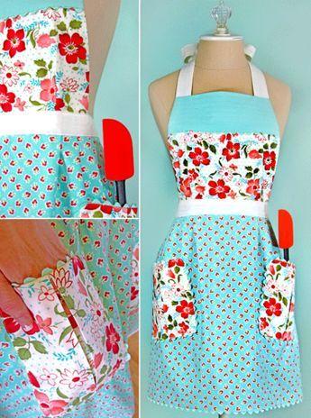 30 Free Vintage Apron Patterns
