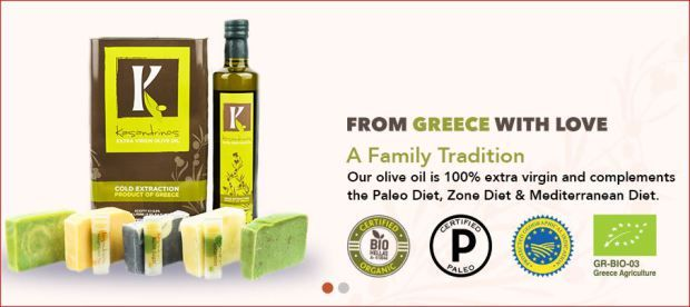 20% off @Kasandrinos - high quality organic extra virgin olive oil. Use code: holidayguide2016 at  http://bit.ly/2epzWON