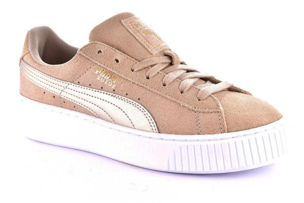puma donna sneaker beige
