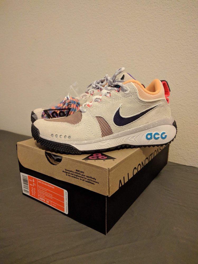 205331f22355 Nike ACG Dog Mountain trail Mens Summit White Black AQ0916-100 WMNS7.5 M6   fashion  clothing  shoes  accessories  mensshoes  athleticshoes (ebay link)