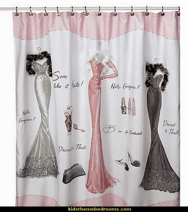 Shabby Chic Shower Curtain Beautiful And Glamorous A Definite Eye Catcher