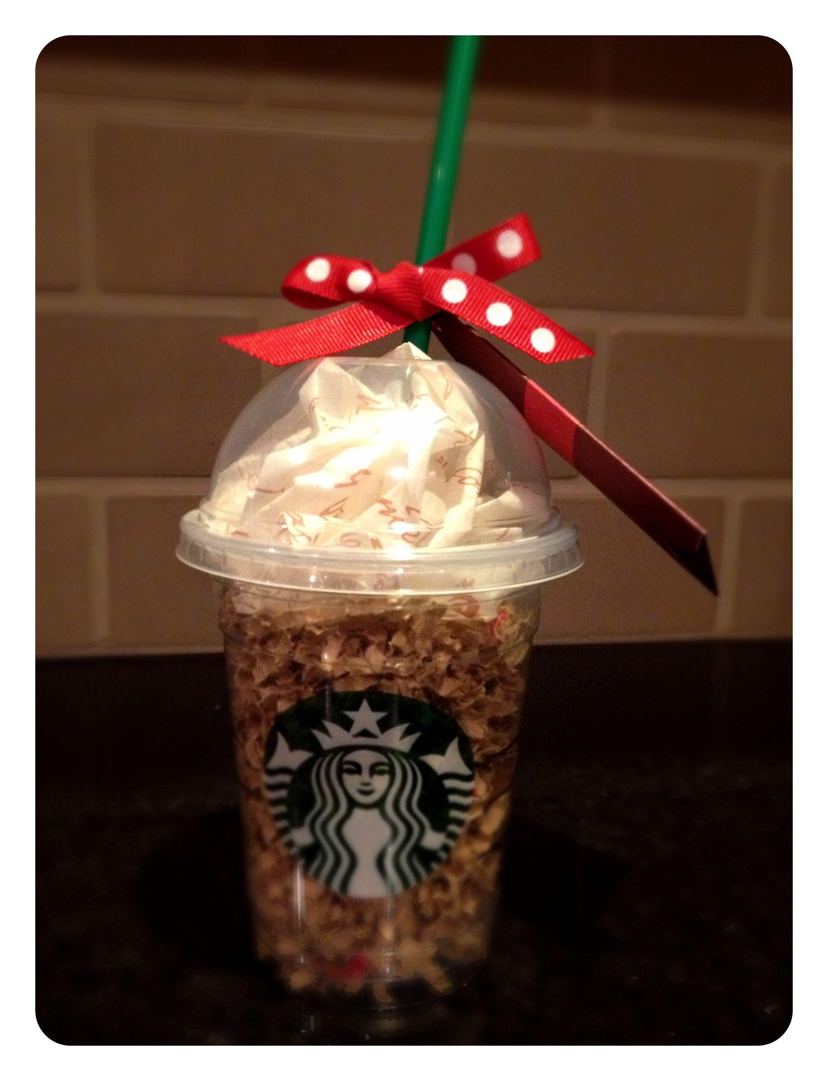 Teacher Gift Boss Gift Friend Starbucks Gift Card + Tall