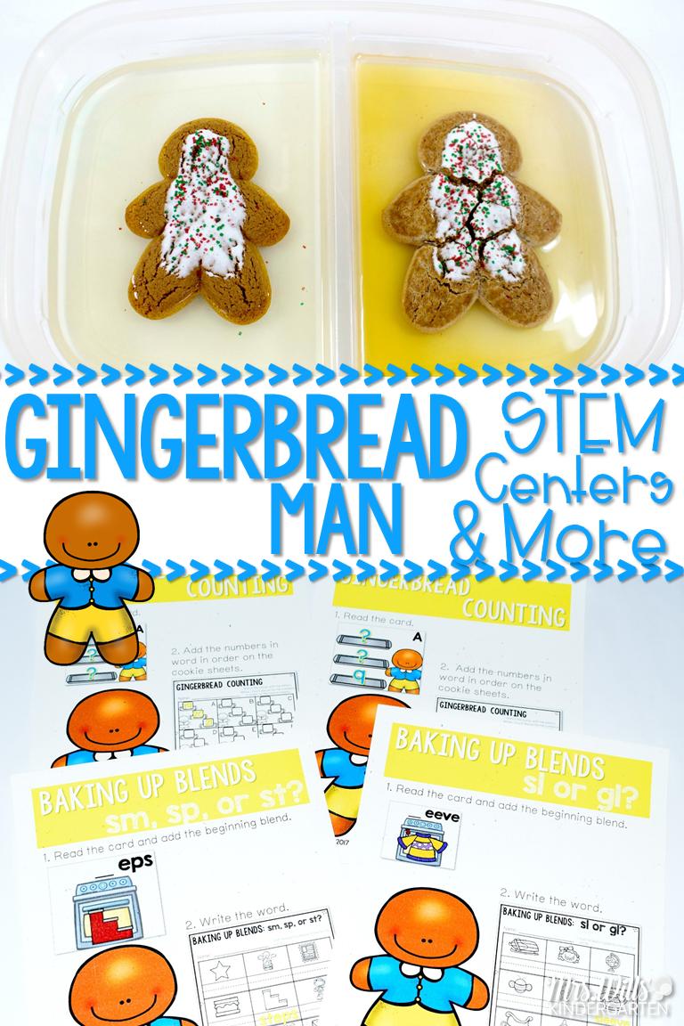 The Gingerbread Man Activities For Kindergarten And First Grade Includes The Gingerb Gingerbread Man Activities Christmas Kindergarten Gingerbread Activities [ 1152 x 768 Pixel ]