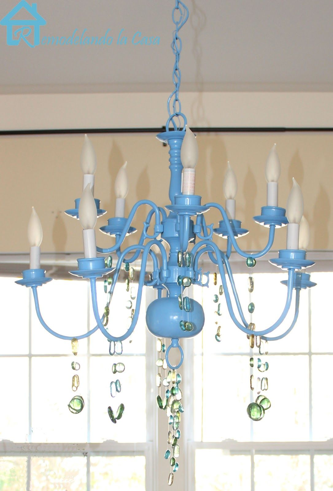 Chandelier Spruce Up