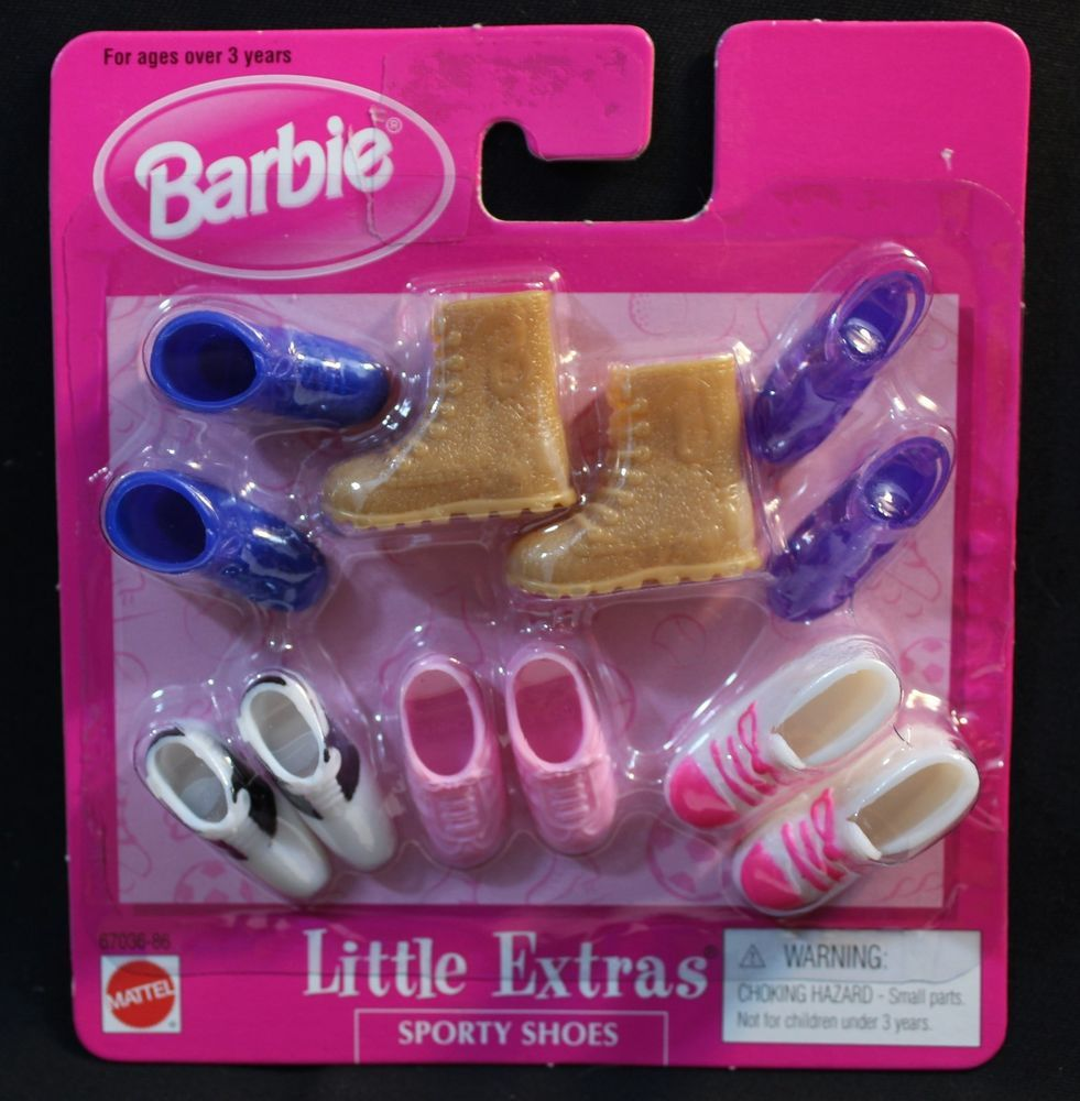 New Barbie Little Extras Dressy Shoes #68715
