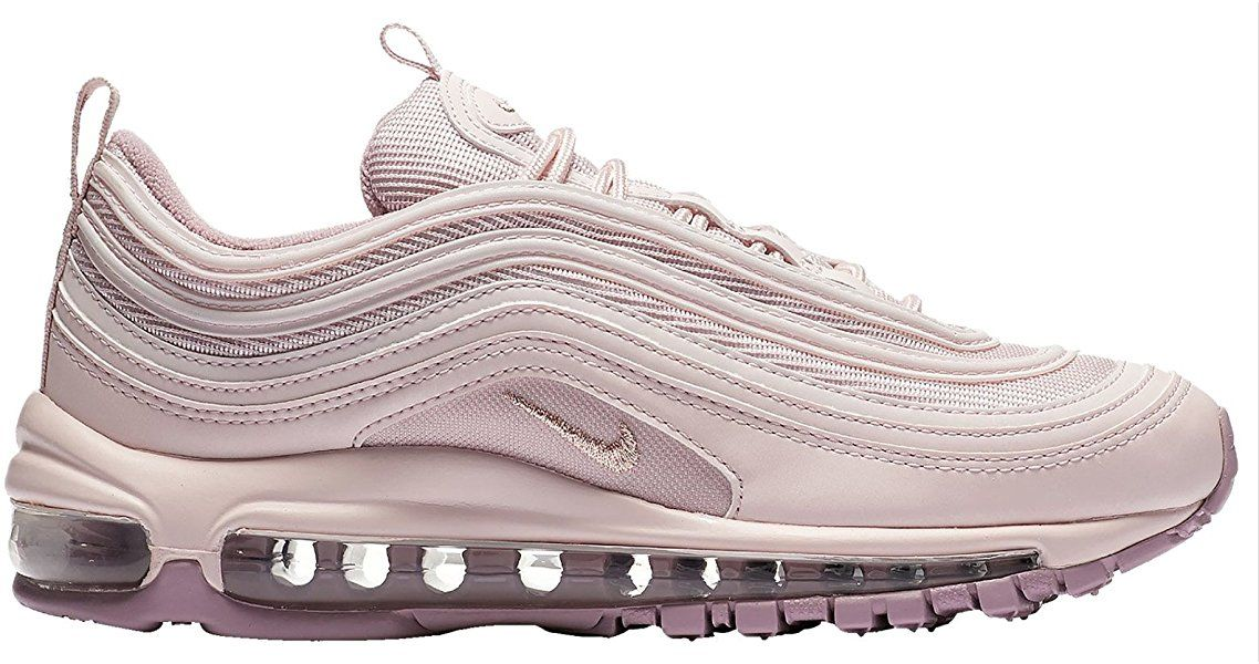Amazon.com | NIKE Women's Air Max 97 Shoes Barely Rose ...