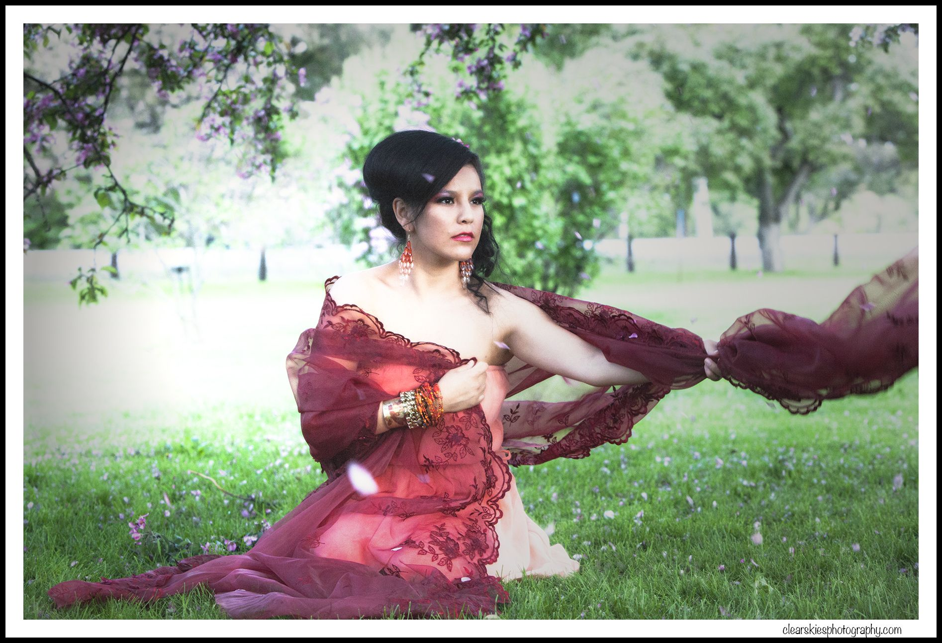 garden pics portrait photoshoot