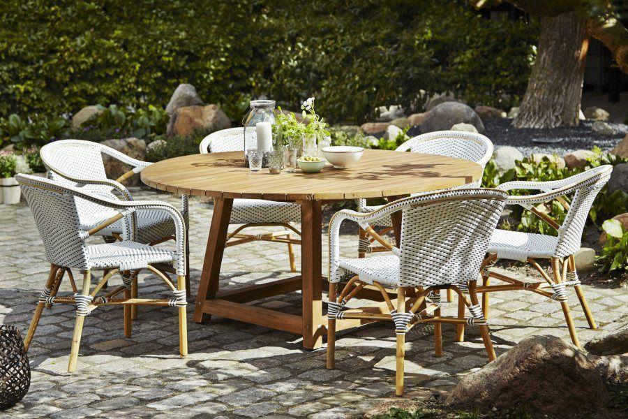 Épinglé par Nicolas Petitjean sur Déco meubles jardin | Table teck ...