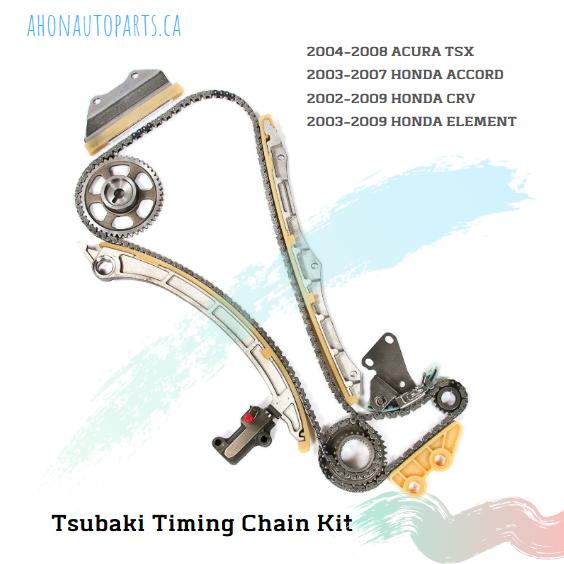 Timing Belt Kit by Tsubaki 20042008 ACURA TSX/ 20032007
