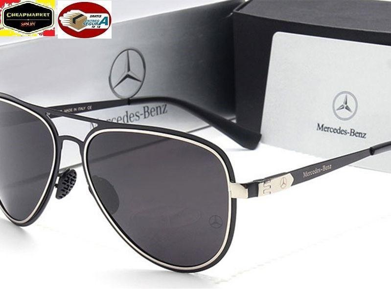 23321771b8 gafas sol design 2018 Mercedes Benz polarizadas y protección 100% UV400  negro