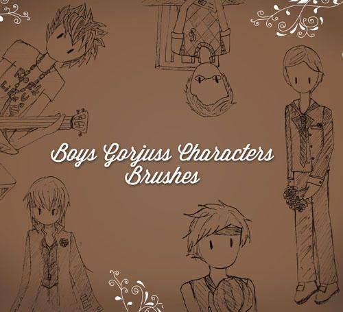 Imagen de http://static.brusheezy.com/system/resources/previews/000/047/260/original/Gorjuss-Boys_preview.jpg.