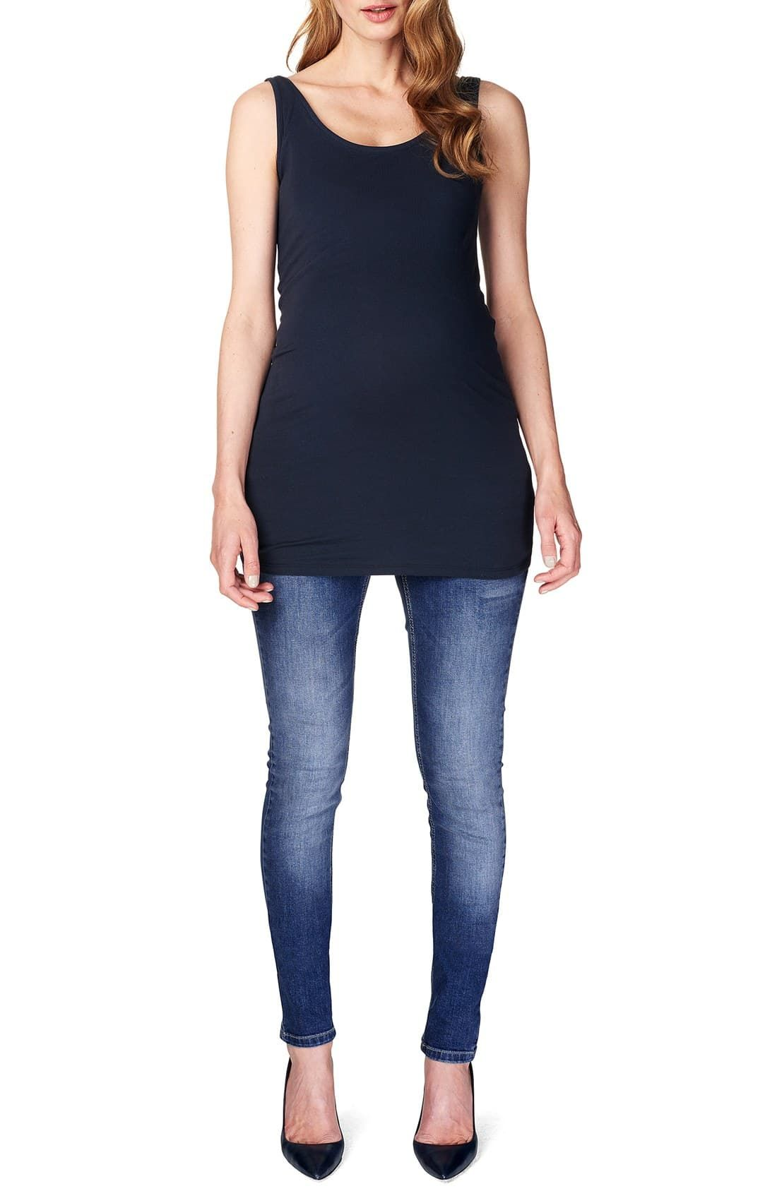 vrp/_trading Stretchy Maternity Leggings Over Bump Full Length Size 10 12 14 16//18 20//22 24//26 Black