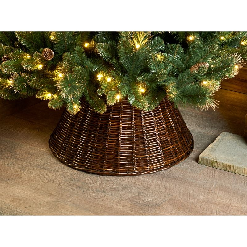 Add A Stunning Decoration To Your Home And Christmas Tree With This Fabulous Tree Skirt Colour Brown Size 65cm Christmas Room Decor Christmas Christmas Room