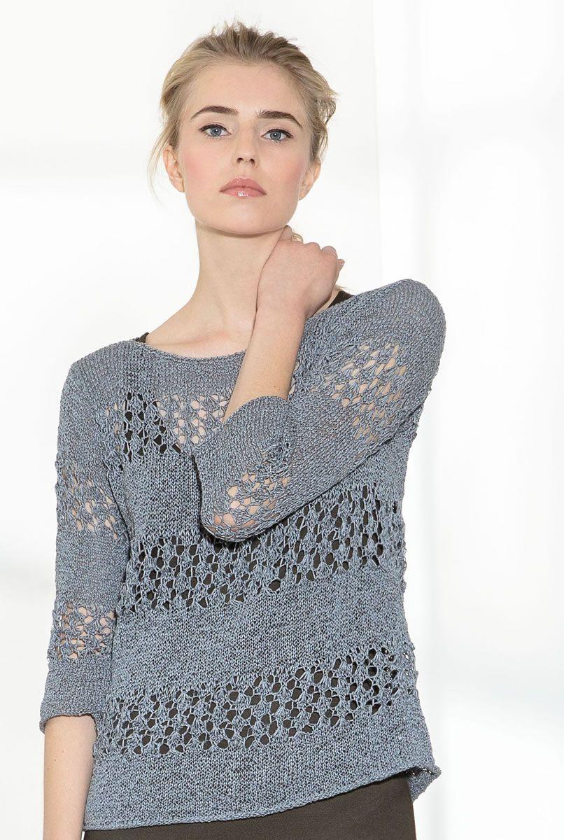 online store e5f66 1fb4b Lana Grossa PULLOVER Difuso - FILATI COLLEZIONE No. 2 ...