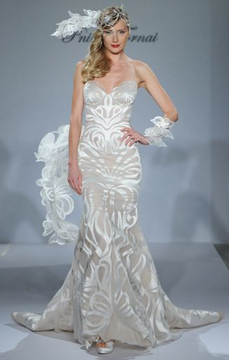 The 10 Most Outrageous Dresses From Bridal Fashion Week | Wedding ...