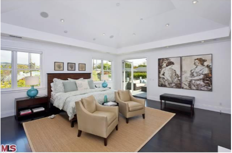 Diane Keaton Pacific Palisades Home-Master Bedroom
