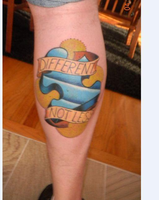 autism awareness tattoo