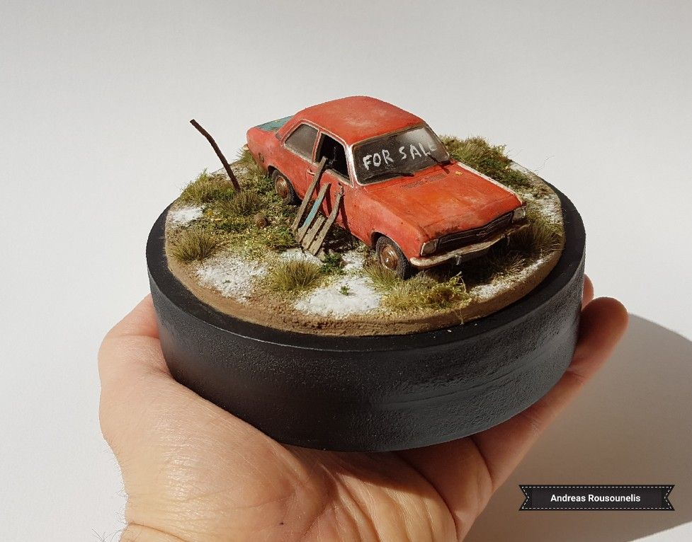 1/43 scale | My scale models and dioramas | Scale models, Diorama, Model