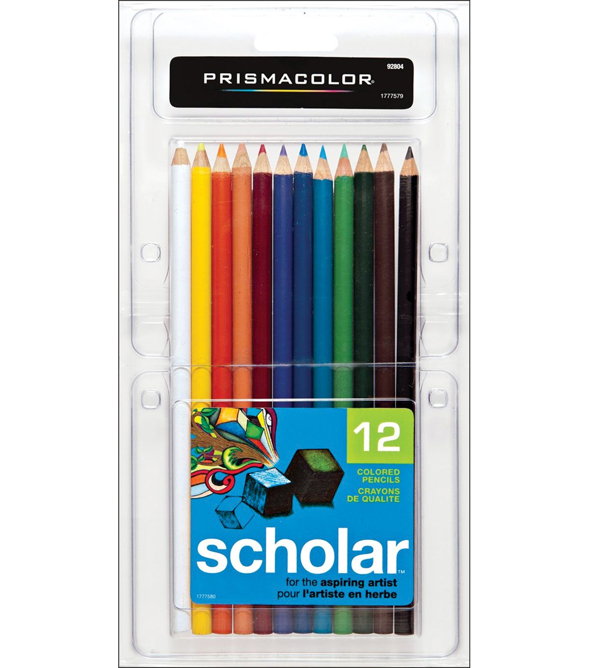 Prismacolor Scholar Colored Pencil Set 12 Pk Prismacolor