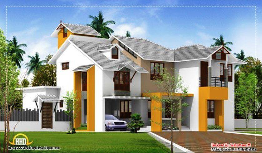 2 storey modern house designs april 2012 kerala home design