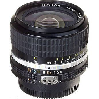 Nikon Nikkor 24mm F 2 8 Ais Manual Focus Lens 1416 B H Photo Nikon Camera Lenses Best Digital Camera Nikon