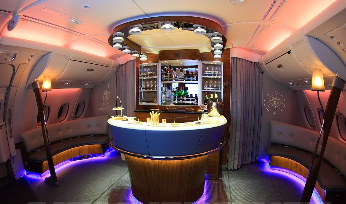The Flight Attendant Life Emirates A380 Bar Emirates Airline