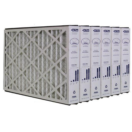 Trion Air Bear 259112 101 6 Pack Pleated Furnace Air Filter 16