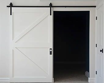 Classical Design Barn Door Hardware Sliding Door Kit 5ft 6ft 6 6ft 7 5ft 8ft 8 2ft 10ft 11ft 12ft 13ft 14ft 15ft 16ft Diy Barn Door Barn Door House