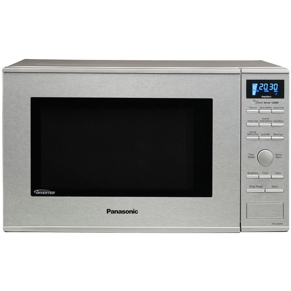 Panasonic Nn Sd681s Stainless 1200w 1 2 Cu Ft Countertop Built