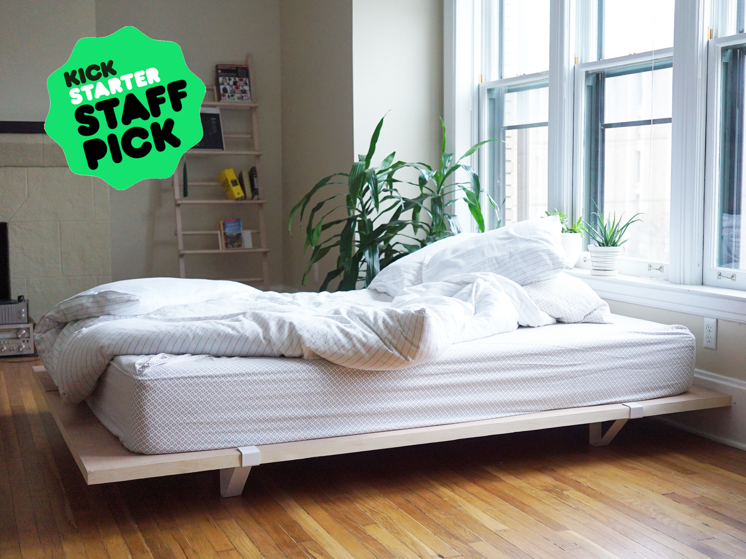 A Minimal Long Lasting Modular Bed Frame Designed For City
