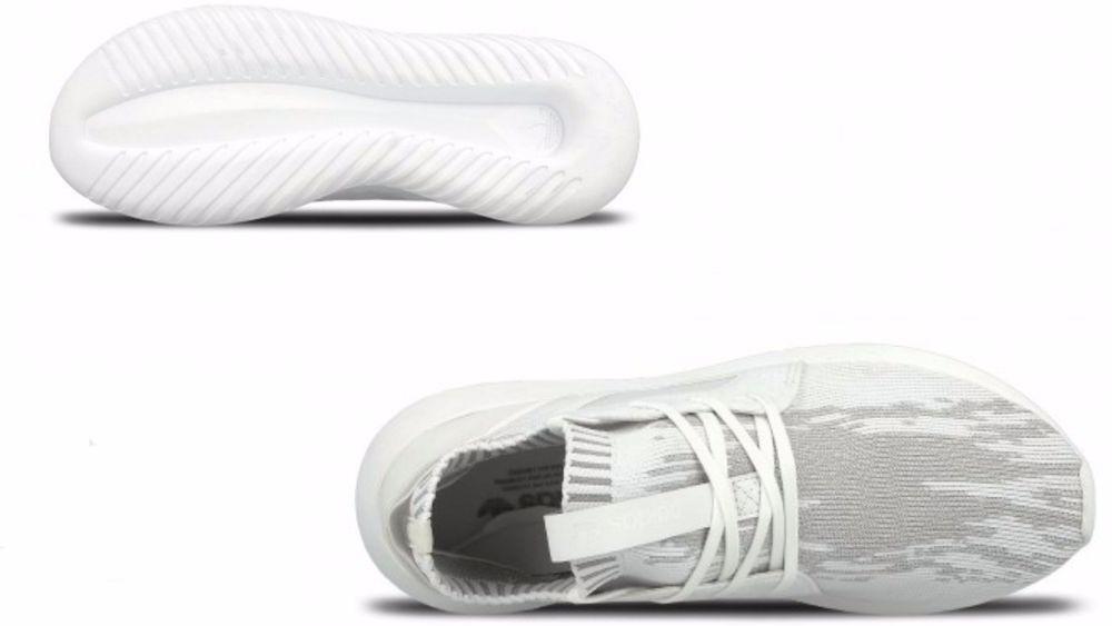 donne adidas originali tubulare ribelle primeknit bianco / chiara