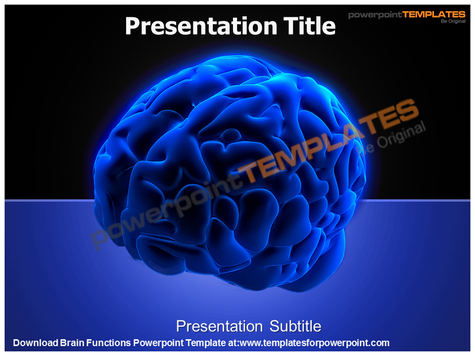 Download Brain Functions Powerpoint Template At Httpwww